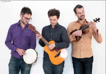 photo du spectacle Le Ba Ya Trio – Le reTour du monde