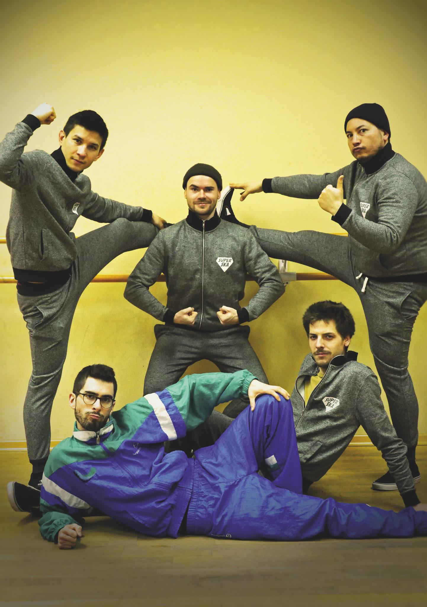 photo du spectacle SuperSka : La leçon de danse